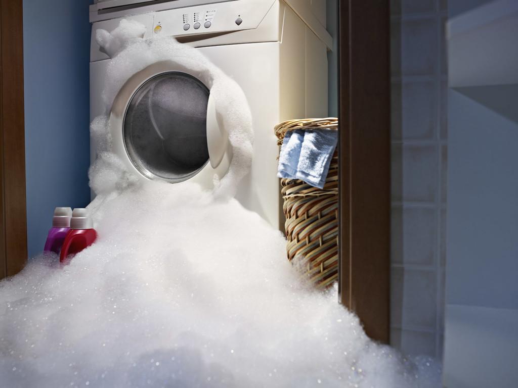 Washing Machiene Overflow in a Longview Home